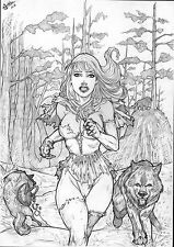 Little Red Riding Hood by Alber - Ed Benes Studio