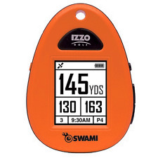 """NEW 2016"" IZZO SWAMI SPORT GOLF GPS RANGEFINDER / ORANGE + FREE EXTRAS WORTH !!"