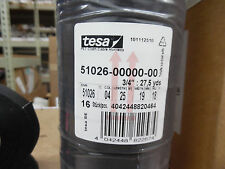 "TESA 51026 3/4"" x 27,cloth wire harness tape with acrylic based adhesive 4/pkg"