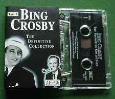 Bing Crosby Definitive Collection 1 inc Sweet Leilani + Cassette Tape - TESTED
