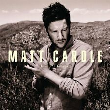 Matt Cardle (X Factor) - Letters Promo Album (CD 2011) Collectable CD