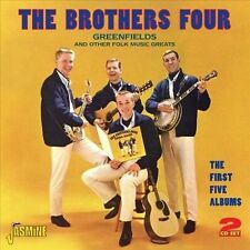 The Brothers Four-First 5 Albums-2 CD Set-Like New**Free Shipping** Great CD Set