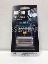 GENUINE BRAUN 8000 360 DEGREE ACTIVATOR FOIL + CUTTER 51S, SERIES 5 UK STOCK!!