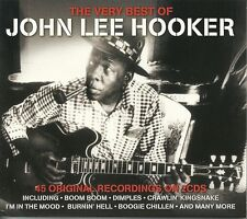 THE VERY BEST OF JOHN LEE HOOKER - 2 CD BOX SET - BOOM BOOM, DIMPLES & MORE