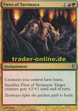 2x Fires of Yavimaya (Feuer von Yavimaya) Conspiracy Magic