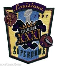 SUPER BOWL 31 Packers vs Patriots OFFICIAL SB XXXI Willabee Ward NFL PATCH ONLY