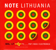 Note Lithuania: Pop / Rock / Electronica CD 2008 Promo