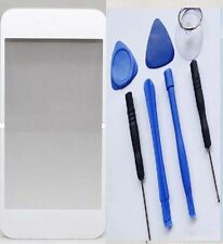 Replacement Front Lens Screen Glass Cover for iPhone 4S 4 white + Tools Kit