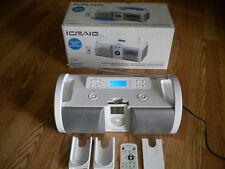 iCRAIG CMA 3007 Portable AM/FM Radio Boombox with Subwoofer and Dock for iPod
