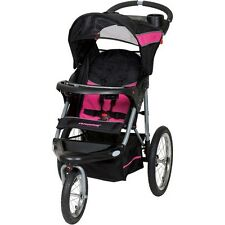 BABY TREND Jogging Stroller Expedition Swivel Jogger Child Kids Pink Girl NEW