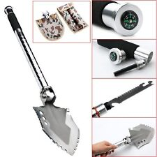 New Outdoor Compact MultiFunction Emergency Survival Camping And Hiking Shovel