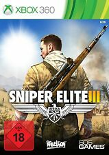 Xbox 360 Spiel Sniper Elite 3 III  NEUWARE