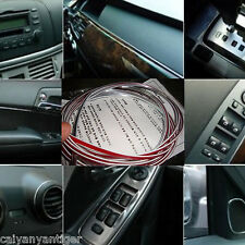 Car Grille Interior Exterior Mouldings Trim Outlet Modified Strip Chrome Line 5M
