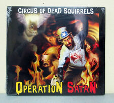 Circus of Dead Squirrels Operation Satan CD Album SOLD BY CODS