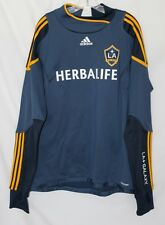 LA GALAXY Adidas Formotion Soccer Team Jersey Long Sleeve Navy XL NWOT