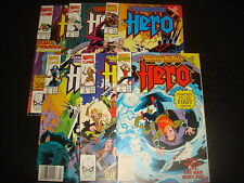 HERO : WARRIOR OF THE MYSTIC REALMS #1,2,3,4,5,6  Set  Marvel Comics 1989  VF/NM