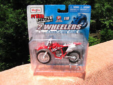Maisto Fresh Metal 2 Wheelers ~ Yamaha Dirt Bike 1:18 Scale Die Cast Metal~New