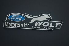 New Wolf  Auto Car Emblem Badge Decal Metal Fit for Ford Focus Mondeo Fiesta
