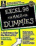 Excel 98 For MacsFor DummiesÂ