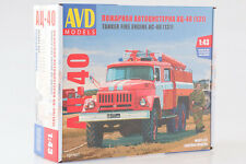 ZiL-131 AC-40 USSR firetruck 1971 1077KIT 1:43 Scale Model Kits (by SSM)