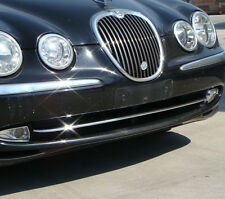 NEW Chrome HEAD LIGHT Surrounds Covers Trims for Jaguar S Type CCX 1998 - 2008