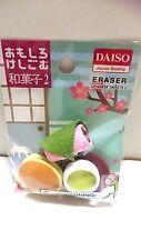 DAISO Fun Eraser Fake Food Japanese sweets 2 Made in Japan
