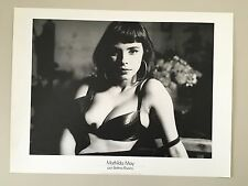 SEXY MATHILDA MAY, PHOTO BY BETTINA RHEIMS,AUTHENTIC 1980's PRINT