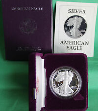 1987 AMERICAN SILVER EAGLE PROOF DOLLAR US Mint ASE Coin with Box & COA