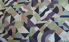 WOW!! 5m Rare Vintage Collier Campbell Cotton Fabric Savoy NEW Picasso Style
