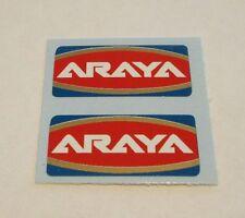 ARAYA RIM DECALS, 1 pair