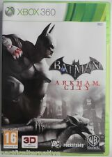 OCCASION complet jeu BATMAN ARKHAM CITY pour xbox 360 game francais action spiel