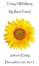 Wedding Seed Packets Favors Sunflower Six Verses to Choose From 100 Qty.