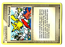 PROMO POKEMON WORLDS 2005 N° 027 MAREMOTO Tropical PIKACHU PORTUGUESE