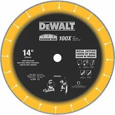 DEWALT-DW8500 14 In. x 7/64 In. x 1 In. Diamond Edge Chop Saw Blade