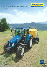 Farm Tractor Brochure - New Holland - T4.55 T4 Powerstar c2011 20 page (F4261)