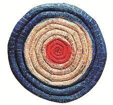 Strohzielscheibe,   65cm, 6 cm Stärke Zielscheibe Stroh Bogensport mit Schlaufe