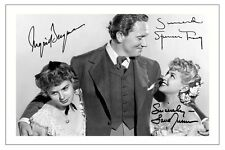 SPENCER TRACY INGRID BERGMAN LANA TURNER AUTOGRAPH SIGNED PHOTO PRINT
