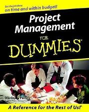 Project Management For Dummies (For Dummies (Computer/Tech))