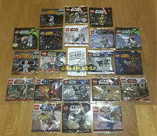 ��SEALED�� Lego Star Wars Minifigure Polybags Full Collection from 2007 ��RARE��