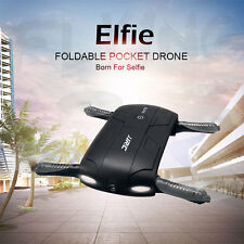 JJRC H37 Elfie Foldable6-Axis WiFi RC Selfie Quadcopter Auto Return Gyro+Camera!