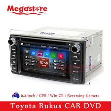 "6.2"" Car DVD GPS Navigation Head Unit Stereo Radio For Toyota Rukus 2010-2016"