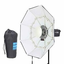 "70cm / 27"" WHITE Portable Collapsible Beauty Dish Octagon Softbox Bowens Mount"