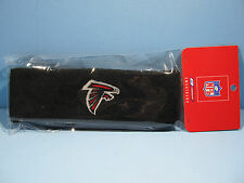 ATLANTA FALCONS PRIMARY LOGO SWEATBAND REEBOK LICENSED HEADBAND - BLACK *NEW*