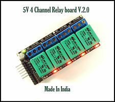 ULN2003 Based 5V 4 Channel Relay Board Module for Arduino Raspberry Pi AVR 8051