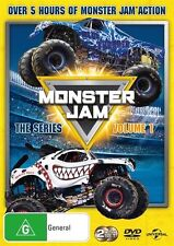 The Monster Jam - TV Series : Vol 1 (DVD, 2016, 2-Disc Set) (Region 4) Aussie