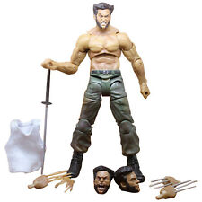 7'' Marvel Wolverine III Logan Action Figure Legends X-man Infinite Kids Toy PVC