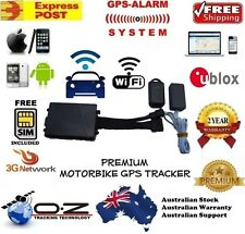 PREMIUM ALARM GPS 3G TRACKER All In One WiFi Auto Arm Motorbike Car Boat Jetski