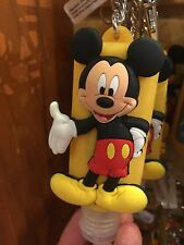 disney parks keychain keyring hand sanitizer mickey mouse 1oz new with tags