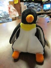 MWMT Waddle Penguin TY original beanie baby RETIRED PVC pellets 1995
