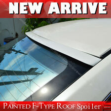 PAINTED FOR MITSUBISHI EVO X 10 F-TYPE ROOF LIP SPOILER evox REAR WING PUF§